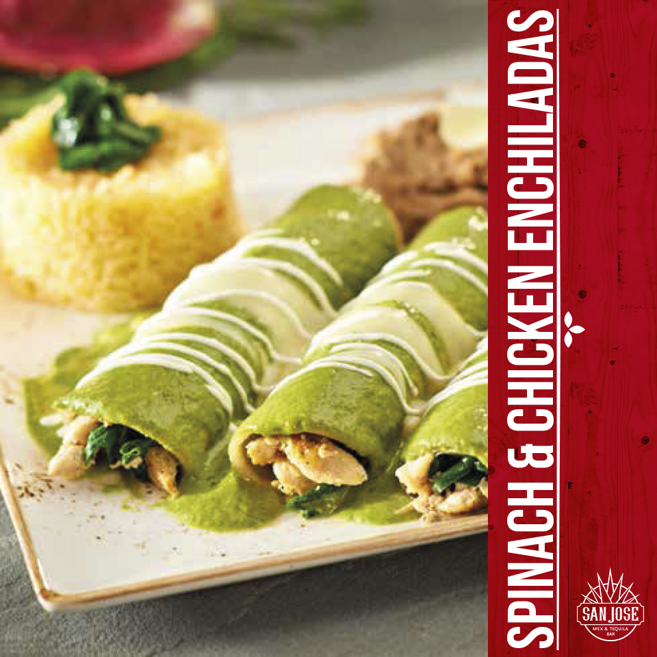spinach-chicken-enchiladas